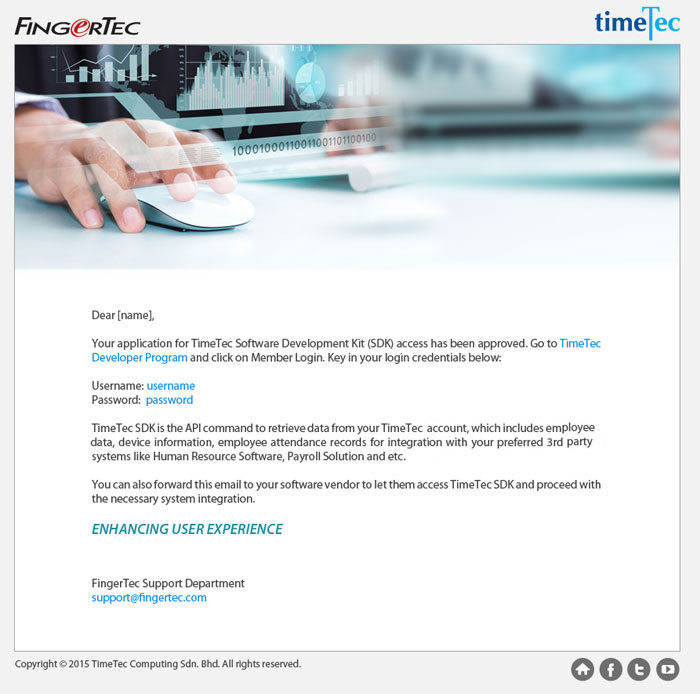 TimeTec Cloud Newsletter - June 2015