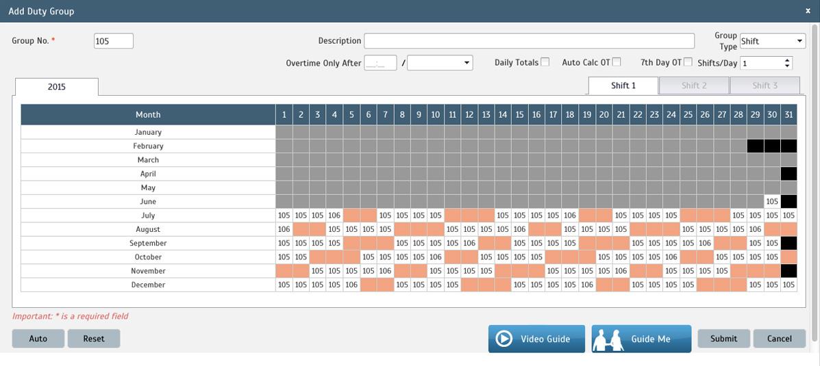 5/4/9 Compressed Work Schedule